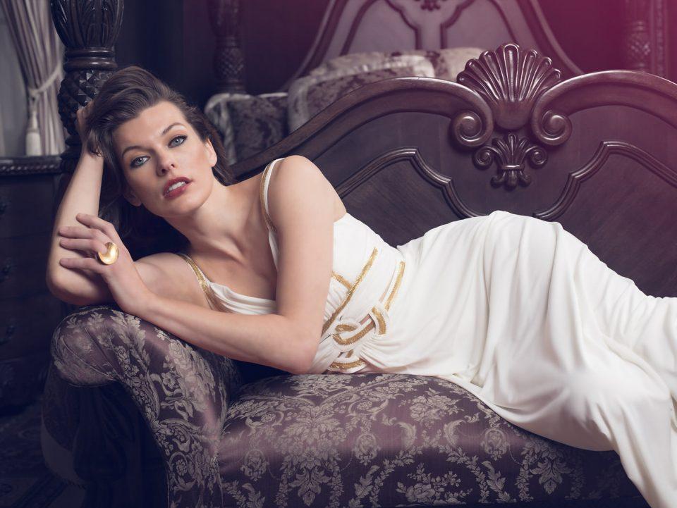 Retoque Fotografía Mila Jovovich 1