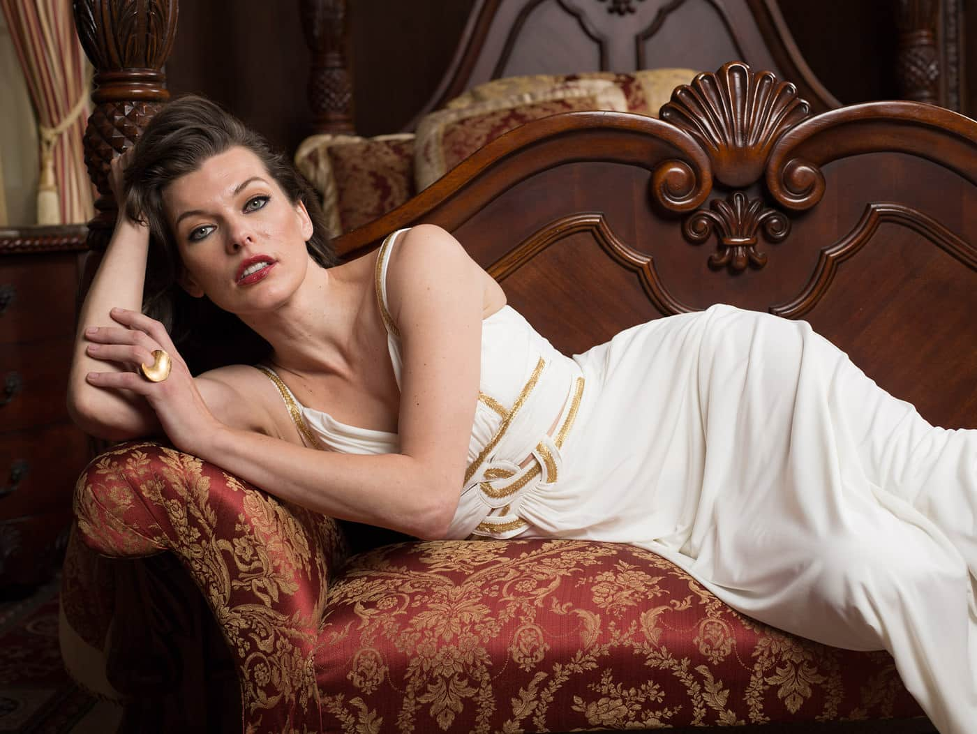 Retoque Fotografía Mila Jovovich