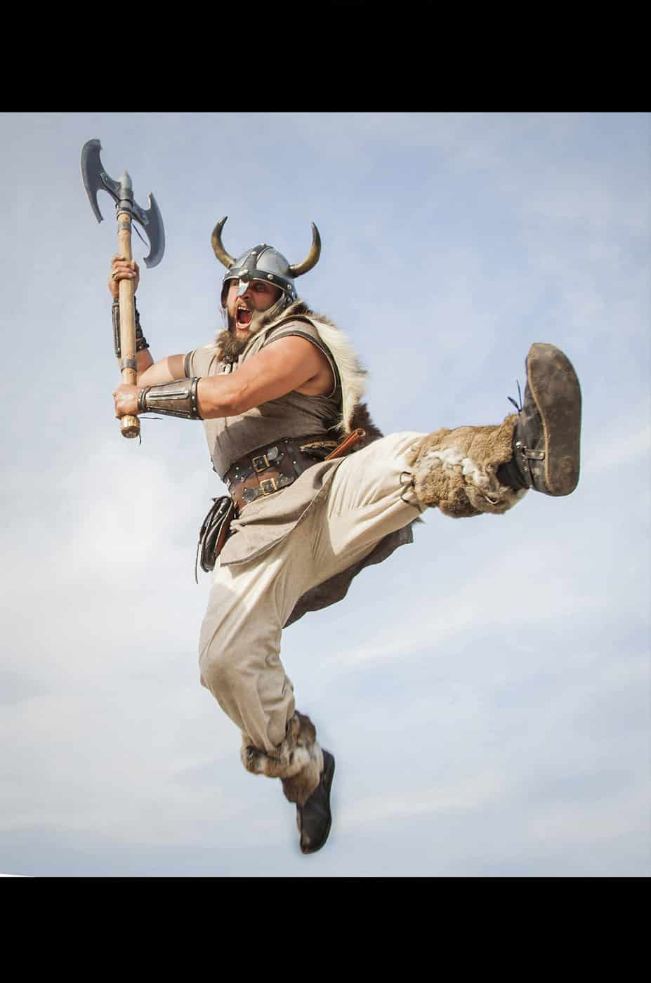 Retoque Fotografía Vikingo